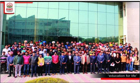 148 Companies visited RIMT University for placement in 2018