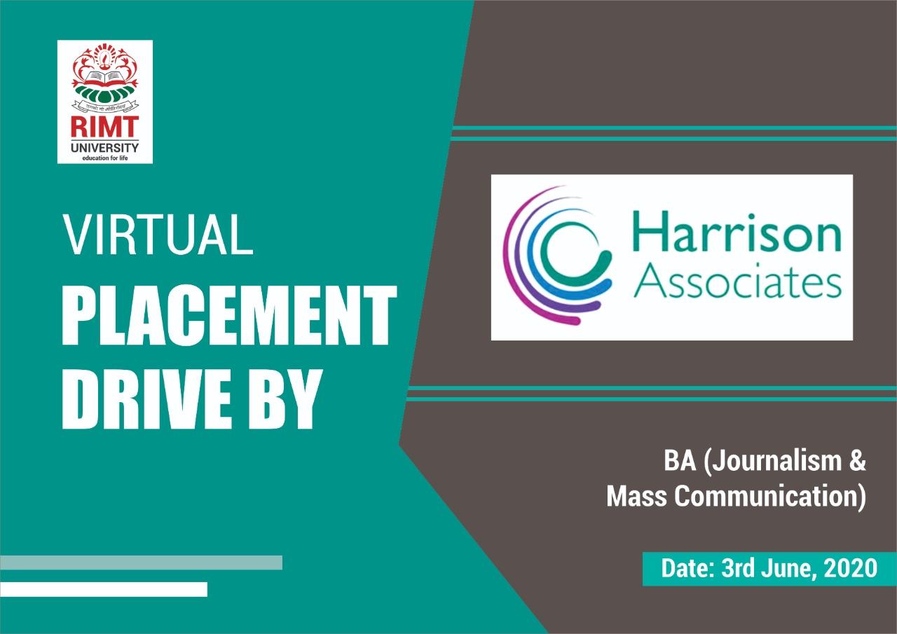 Harrison Placement Drive