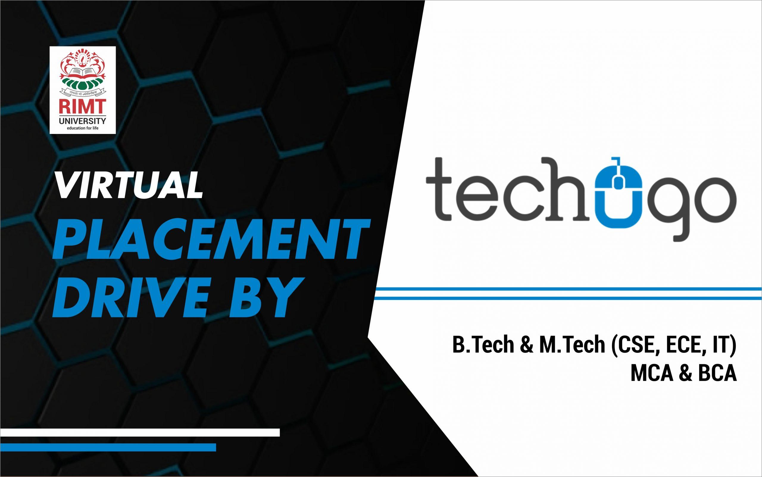 techogo placement drive