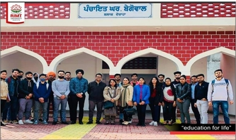 School of Architecture & Planning organized study trip for students