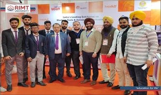 School of Engineering & Technology students visited MACH AUTO EXPO 2021
