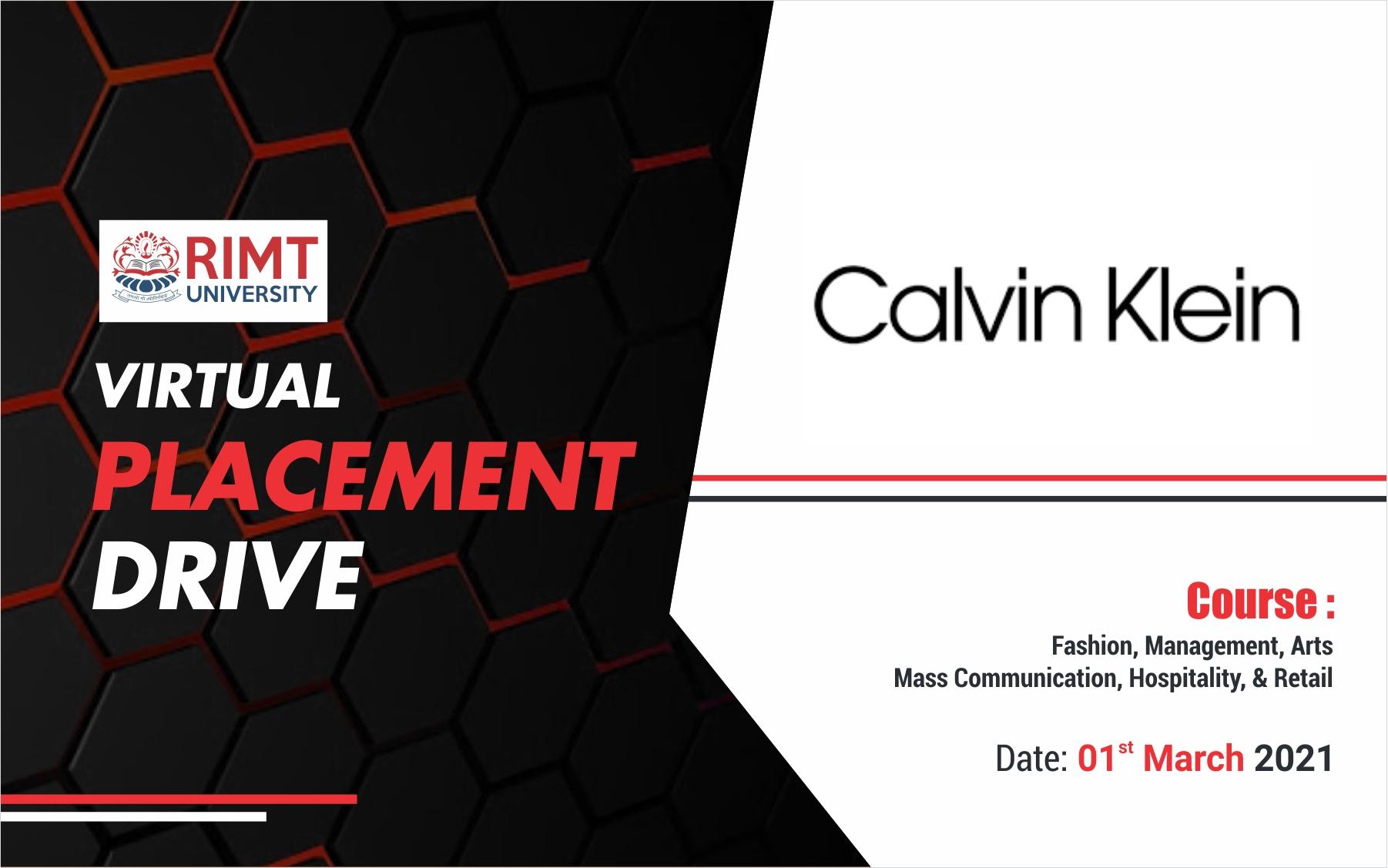 CK Placement Drive at RIMT University