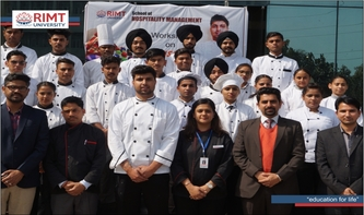 Workshop on Artisanal Chocolates organized by School of Hospitality Management