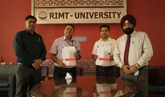 RIMT University signed MOU with Mohandai Oswal Hospital