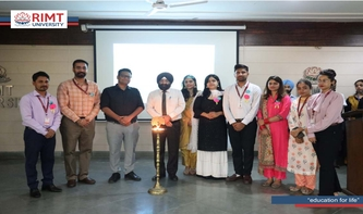 World Physiotherapy Day Celebration in RIMT University
